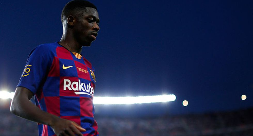 Dembélé llegó al Barcelona en verano de 2017. (Getty)