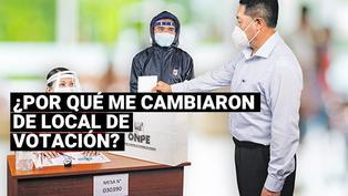 Elecciones 2021: Estos serían los motivos por los que la ONPE cambió los lugares de votación a los peruanos