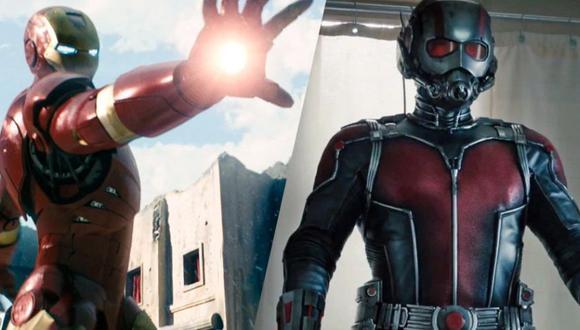 Avengers 4   Ant-Man y Iron Man
