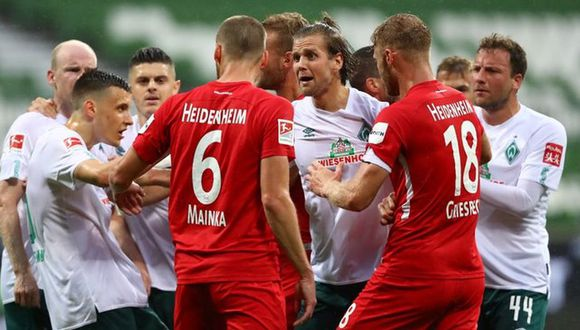 Bremen empató y complica su estadía en la Bundesliga. (Foto: Agencias)