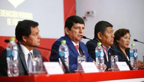 La FPF emitió un comunicado sobre el fallo del TAS. (Foto: Jesús Saucedo)