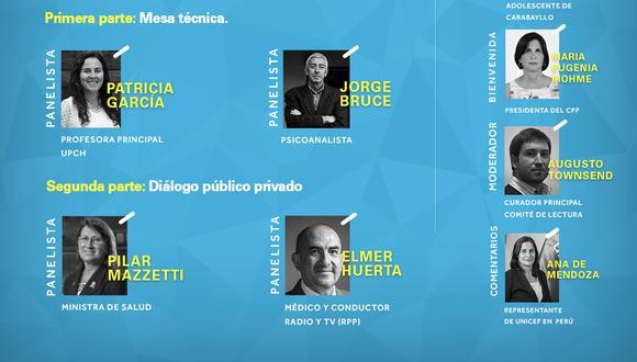 Webinars de discusión organizados por el Consejo de la Prensa Peruana y Unicef