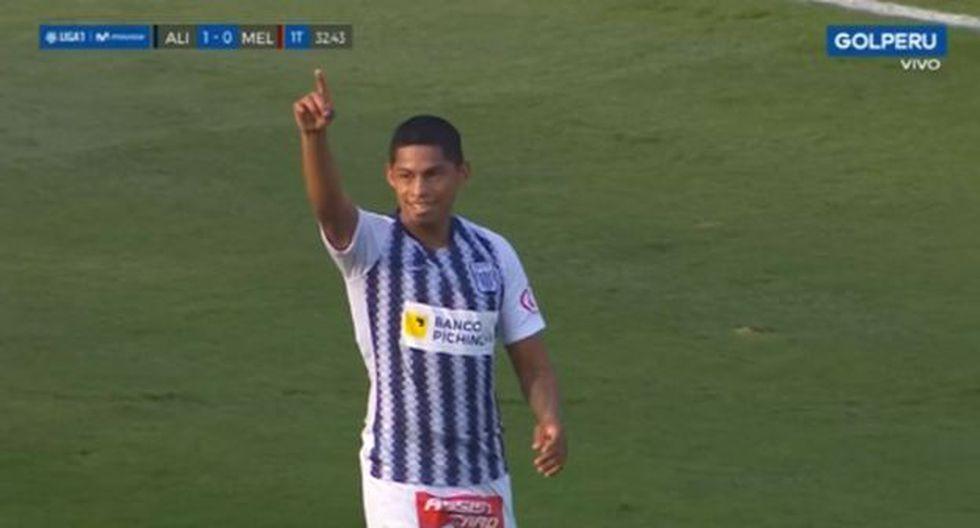 Kevin Quevedo marcó el 1-0 para Alianza Lima con asistencia de Joazinho Arroé. (Captura)