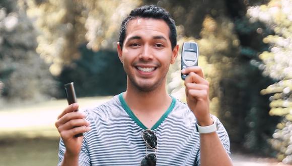 ¿Sabes quién sobrevive? Lanzaron de 300 metros de altura el Samsung Galaxy Note 10 y el Nokia 3310. (Foto: YouTube)