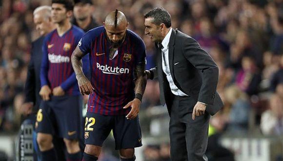 Arturo Vidal juega su segunda temporada con la camiseta del Barcelona. (Foto: Getty)