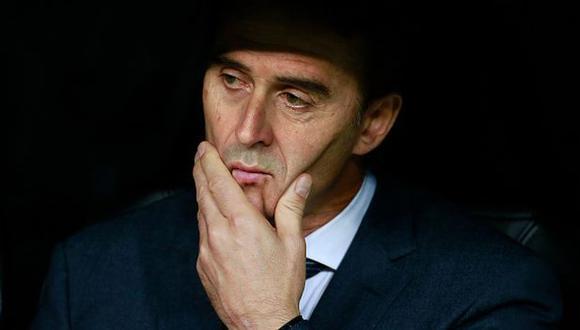 Julen Lopetegui no duró ni media temporada en Real Madrid. (Foto: Getty)
