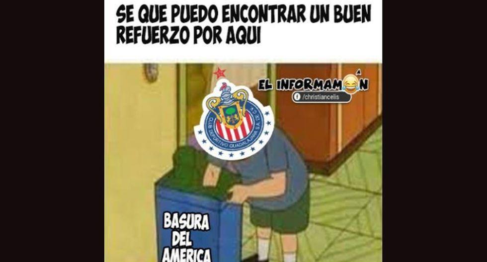 Oribe Peralta dejó América y jugará en Chivas: los memes después de la 'traición'. (Foto: Facebook)