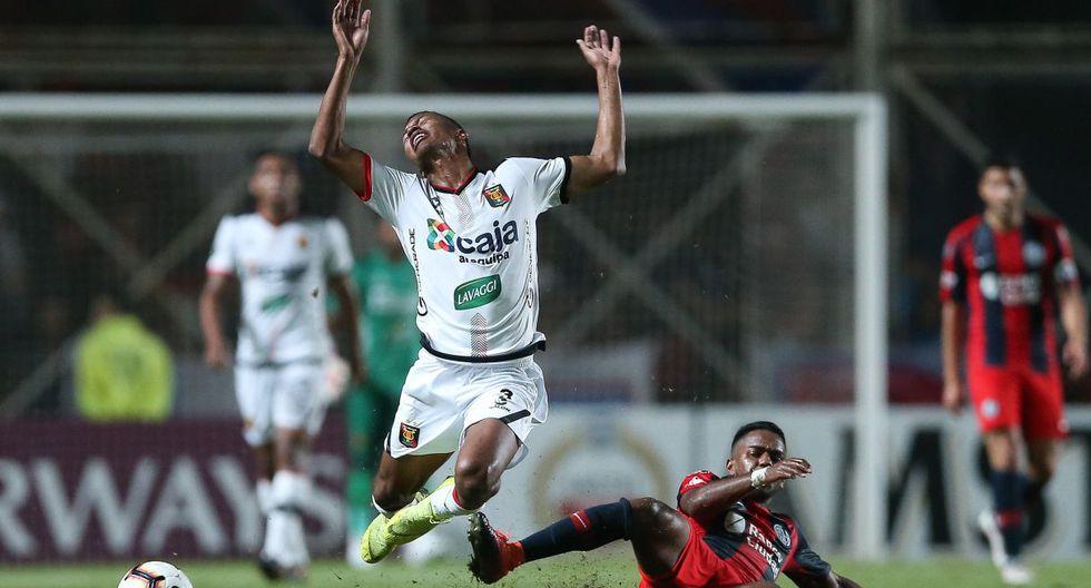Melgar perdió 2-0 con San Lorenzo por la Copa Libertadores. (Foto: EFE)
