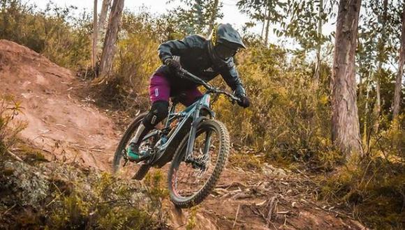 Aissa Hamann, la ciclista de downhill y enduro que lleva la adrenalina en las venas. (Foto: Instagram/Pamuri Bike Park)