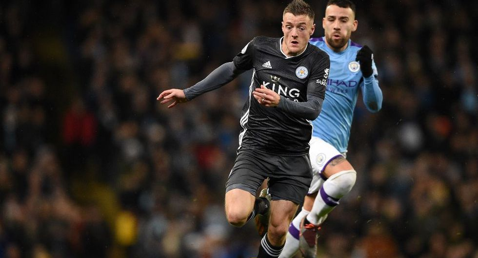 4. Jamie Vardy / Leicester - 17 goles (34 puntos). (Foto: AFP)