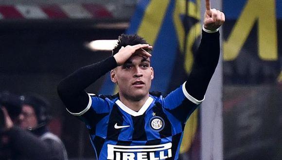 Lautaro Martínez llegó al Inter de Milán en 2018 desde Racing Club. (Foto: AFP)