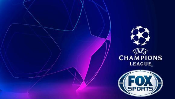 ▷ Canal FOX Sports EN VIVO: Champions League, Manchester City - Lyon