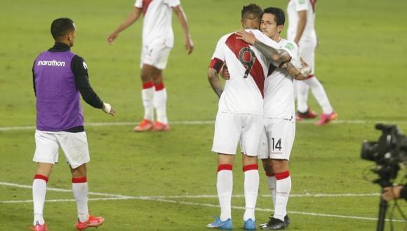 Gianluca Lapadula igualó marca de Paolo Guerrero en la Copa América. (Foto: Violeta Ayasta / GEC)