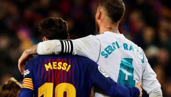 Real Madrid felicitó a Barcelona tras ganar la Copa del Rey 2021. (Foto: EFE)