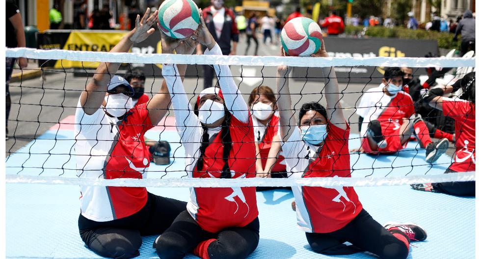 El voleibol sentado es la variante del voleibol para atletas con discapacidad