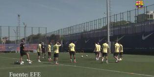 España: Barcelona regresa a los entrenamientos tras un día de descanso