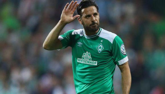 Claudio Pizarro no jugó en la caída del Werder Bremen (6-1) ante el Bayern Múnich por la Bundesliga.