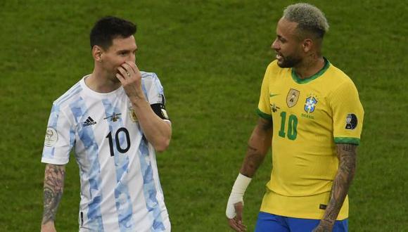 Lionel Messi y Neymar podrían compartir equipo en PSG. (Foto: AFP)