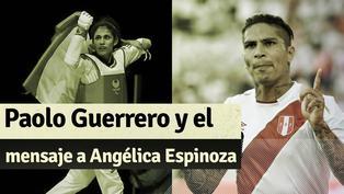 El emotivo mensaje de Paolo Guerrero a Angélica Espinoza por su medalla de oro en Tokio 2020