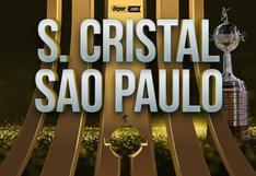 ESPN, Sporting Cristal vs. Sao Paulo EN VIVO en el Nacional por Copa Libertadores