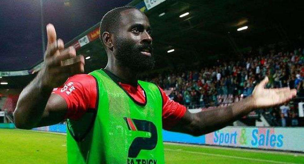 Quincy Owusu-Abeyie jugó la última vez para el Nijmegen de la Eredivisie holandesa.