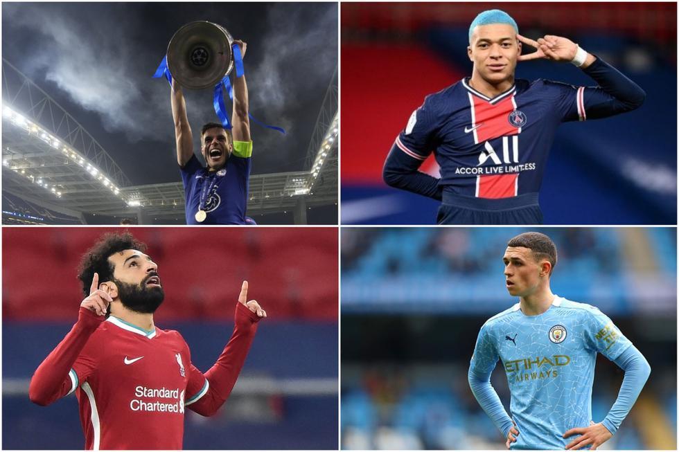 El once ideal de la Champions League 2020-21, según la UEFA.