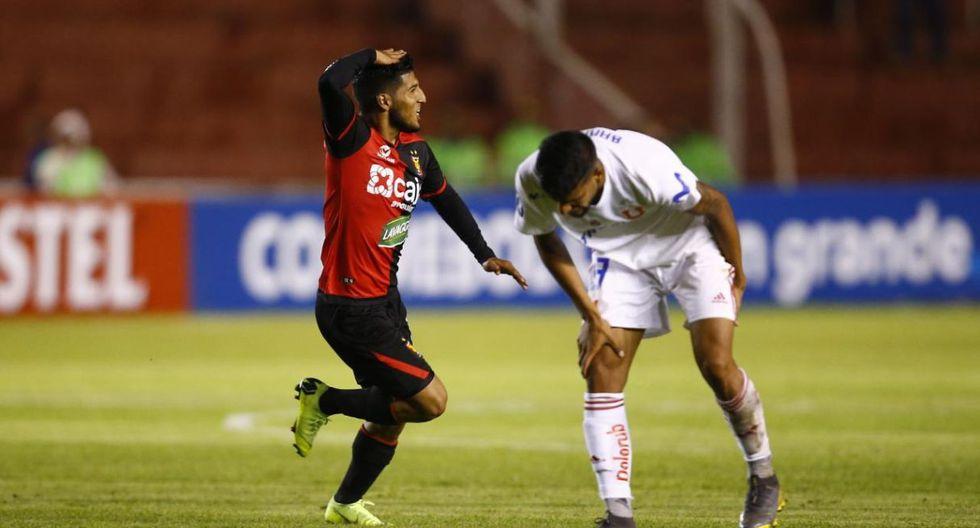 Melgar se impuso 1-0 a U. de Chile, en Arequipa. (Foto: Francisco Neyra / GEC)
