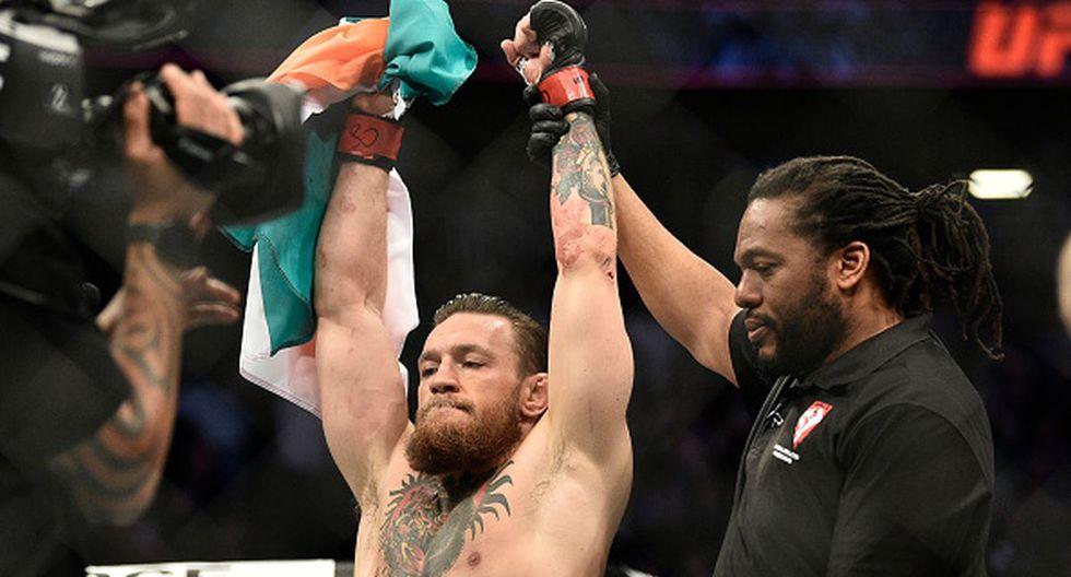 Conor McGregor venció a Donald Cerrone en la estelar del UFC 246. (Getty Images)