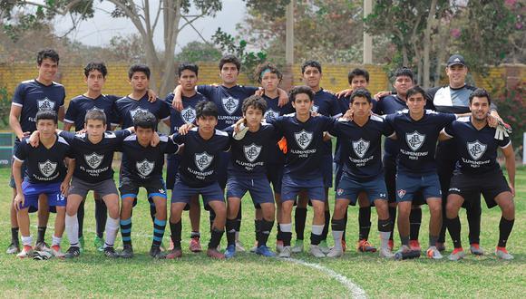 Fluminense Perú arrancó con los trabajos en menores (Foto:DIFUSIÓN)