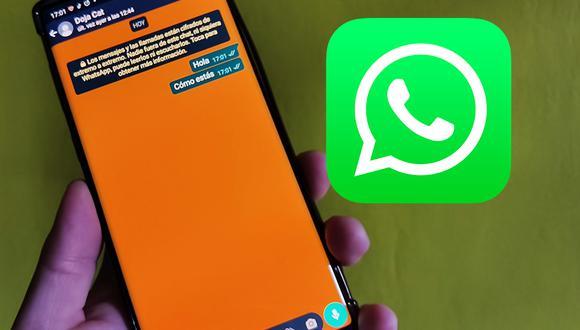 De esta forma podrás cambiar WhatsApp en color blanco, verde, azul, naranja. (Foto: Depor)