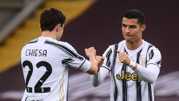 Federico Chiesa marcó en el triunfo agónico de la Juventus ante Spezia. (Foto: AFP)