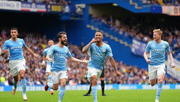 Manchester City venció al Chelsea de visita con gol de Jesus. (Getty)