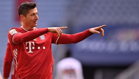 Robert Lewandowski tiene contrato con el Bayern Munich hasta el 2023. (Foto: Agencias)