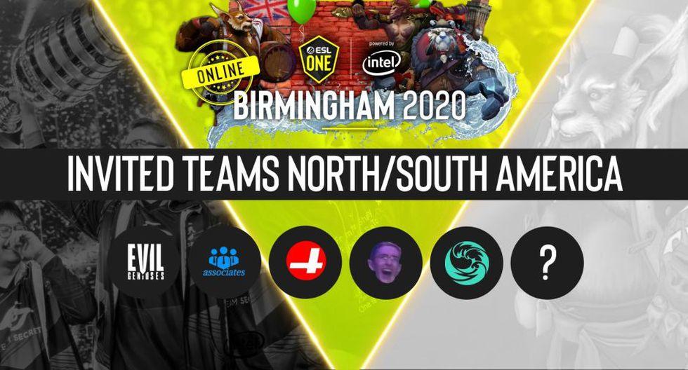 Dota 2: Thunder Predator se enfrentará a estos equipos en la Major ESL One Birmingham 2020. (Foto: ESL)