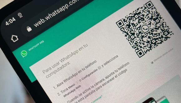 Guía de WhatsApp Web para activar los mensajes temporales en la versión de escritorio. (Foto: MAG)