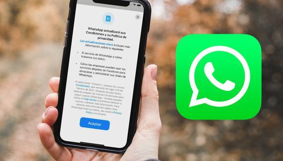 De esta forma podrás volver a ver las nuevas condiciones 2021 de WhatsApp. (Foto: Depor)
