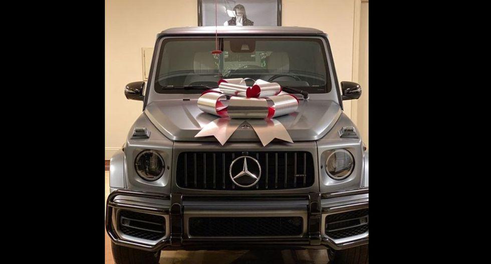 Floyd Mayweather le regaló lujosa camioneta de 180 mil dólares a su hija de 19 años por Navidad. (Fotos: Instagram)