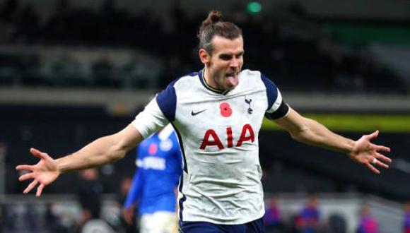 Gareth Bale jugó la temporada 20-21 en el Tottenham de la Premier League. (Foto: Getty Images)