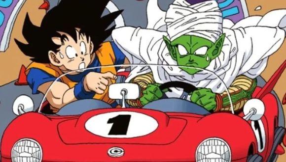 Dragon Ball | Goky y Piccolo aprendiendo a manejar