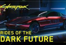 Cyberpunk 2077 estrena avance de sus vehículos y estilos de ropa