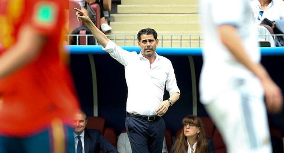 Hierro tomó las riendas de España en el Mundial Rusia 2018. (Foto: Getty)