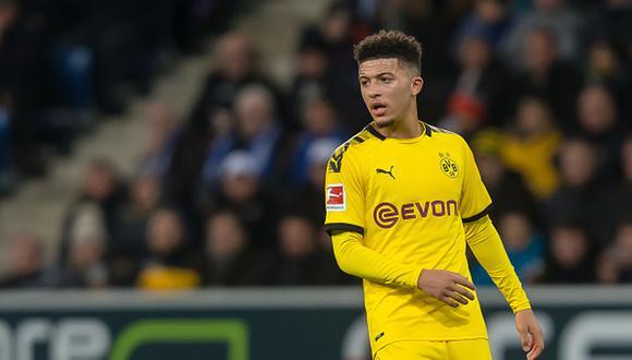 Jadon Sancho tiene contrato con el Dortmund hasta el 2022. (Foto: Getty)