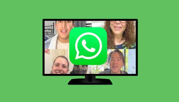 Aprende a realizar videollamadas de WhatsApp en tu televisor usando estos pasos. (Foto: Mockup)