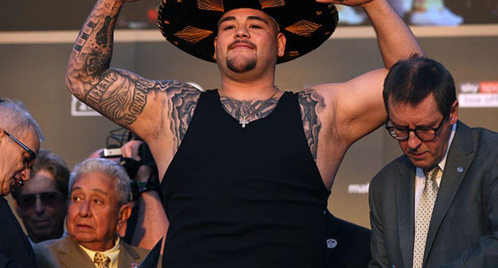 Andy Ruiz Jr. tiene un récord de 33 victorias y una derrota. (Foto: Getty Images)