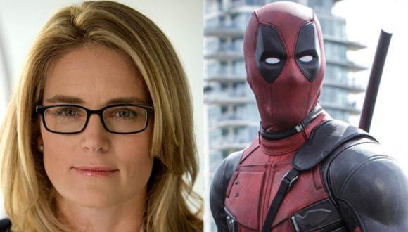 Marvel: Ryan Reynolds elogia a Emma Watts por el éxito de Deadpool.