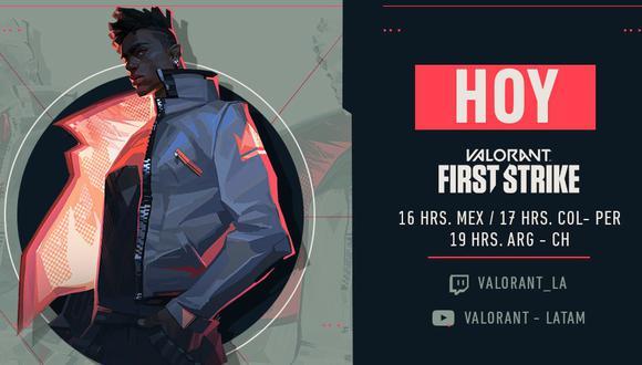 VALORANT: First Strike Latinoamérica da inicio a la fase final. (Foto: Riot Games)