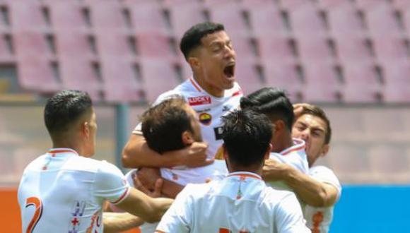 Ayacucho FC y Cusco FC se midieron en la Fecha 7 de la Fase 2. (Foto: Liga 1)