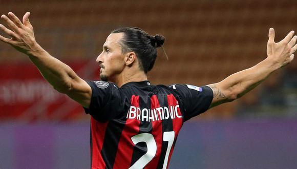 El mensaje de Zlatan Ibrahimovic después de cerrar la temporada con el Milan. (Foto: EFE)