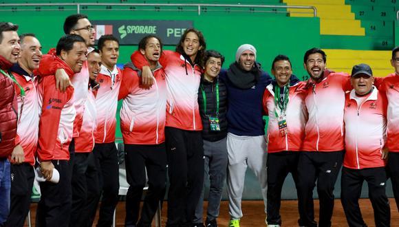 Perú enfrentará a Rumania por los knock-outs de la Copa Davis. (Tenis Al Máximo)
