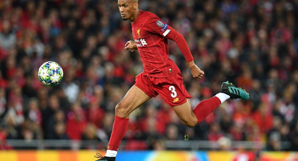 Fabinho aún no puede ganar la Premier League con la camiseta del Liverpool. (Foto: Agencias)